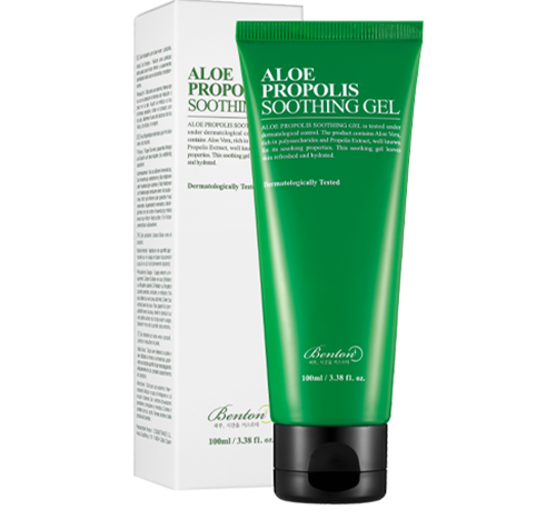 BENTON Aloe Propolis Soothing Gel_use
