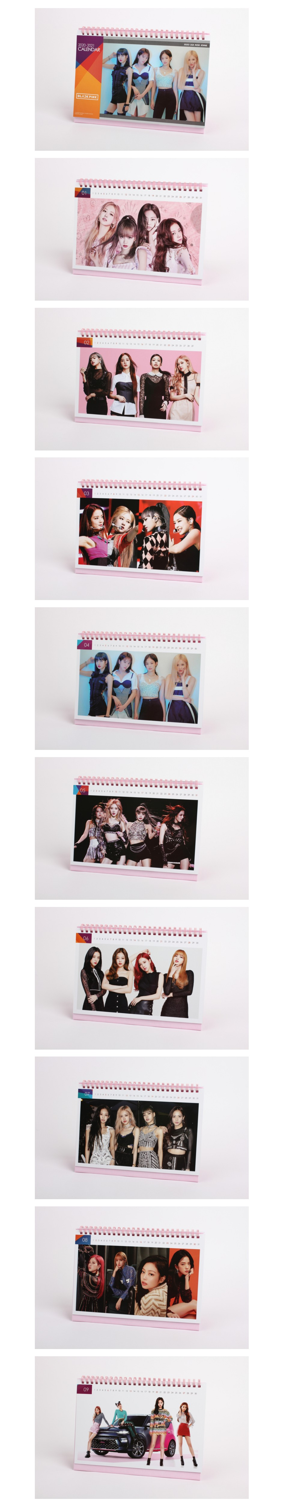 BLACKPINK - 2020-2021 Desk Calendar