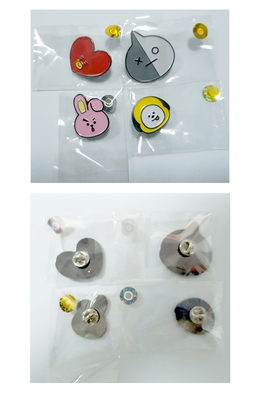 BT21 - Face Pin Badge