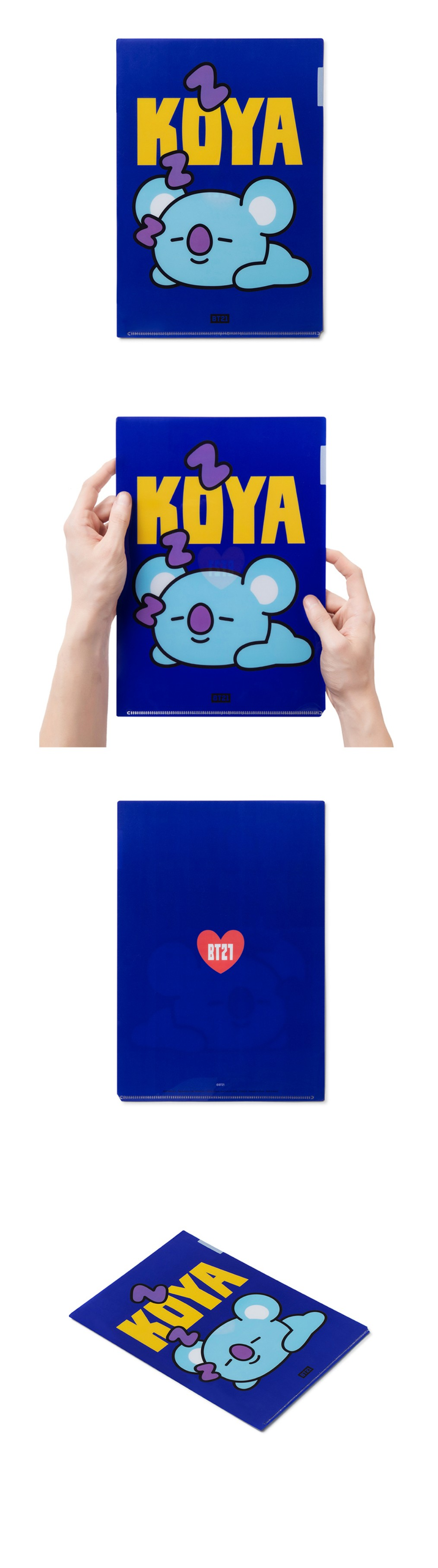 BT21 - Heart A4 File Holder
