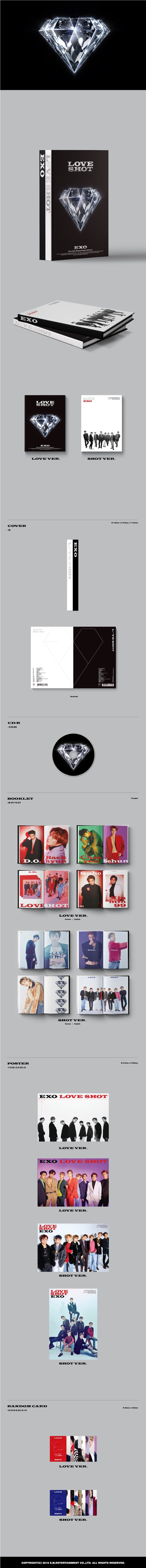 EXO - Love Shot (Repackage)